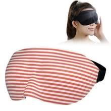 Thuis en onderweg slapen oog masker ooglapje met verstelbare Strap(Red)