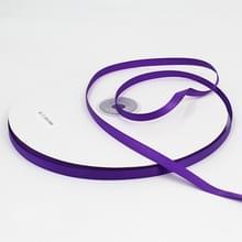 Hoge dichtheid polyester hand geweven lint  grootte: 91m x 0.6 cm (donker paars)
