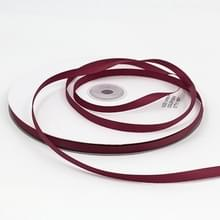 Hoge dichtheid polyester hand geweven lint  grootte: 91m x 0.6 cm (paars rood)