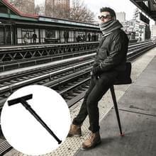 PD-02 buiten wachten In lijn voor artefact draagbare metro reizen licht Mini Carry-over zetel intrekbare Folding Stool