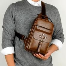 Universele mode casual outdoor mannen schouder messenger bags retro mannen taille tas  maat: S (26cm x 17cm x 5.5 cm) (kaki)