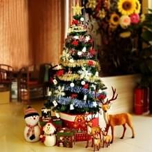 Kerstboom decoratie Home Kerst ornamenten met gekleurde lichten  grootte: 1.5 m