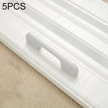 5 STKS 2049-96 lade kast deur aluminiumlegering handvat rechte deur handvat (wit)