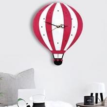 11 * 10 inch kinderen slaapkamer kamer decor batterij geëxploiteerd ballon gevormde Mute niet tikt ronde muur Quartz klok