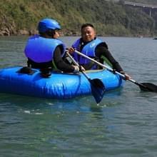 Drifting visserij reddingsvesten met fluitje zwemmen voor volwassenen  maat: XL(Blue)