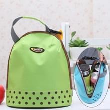 Draagbare handvat Thicken geïsoleerde Luncheon tas  grootte: 26 * 23cm (groen)
