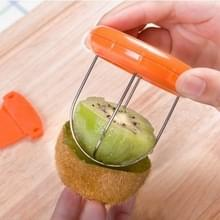 3 delige Portable en speciale ABS + roestvrij staal Kiwi Fruit Peeler  willekeurige kleur levering