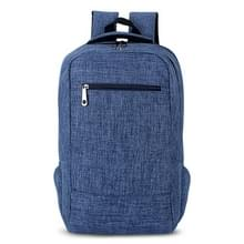 Universele multifunctionele 15.6 inch Laptop Schouderstas studenten Backpack voor MacBook  Samsung  Lenovo  Sony  Dell  Chuwi  Asus  HP  Afmetingen: 43 x 28 x 12 cm (blauw)