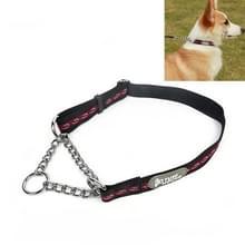 Tuffhound 1704  huisdier anti-Bite halsband hond keten  maat: M  2x (40-60) cm