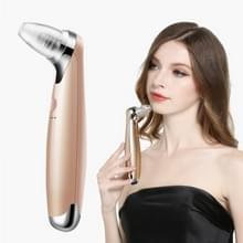 Draagbare USB opladen 5 instellingen elektrische gezichts reiniger Acne Remover Beauty Massager(Gold)