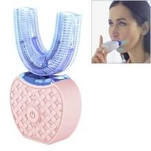 Vwhite 3 Reinigingsmodi silicone elektrisch automatisch Beauty tooth instrument (roze)