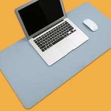 Multifunctionele Business PVC lederen muismat toetsenbord pad tabel mat computer bureau mat  grootte: 90 x 45cm (Baby Blue)