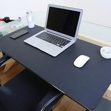 Multifunctionele Business PVC leer Pad toetsenbord Pad tabel Mat Computer Desk muismat  formaat: 120 x 60cm(Black)