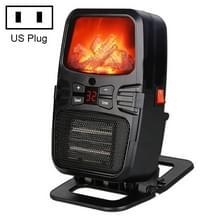 Vlam kachel mini huishoudelijke muur gemonteerde Desktop radiator warmer elektrische kachel  U.S. plug