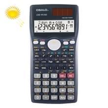 OSALO OS-991MS 10 + 2 cijfers dubbele lijn Display multi-functionele Student functie wetenschappelijke Calculator zonne-energie Dual Power Calculator