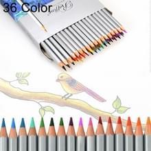 Professionele kunst schets Kleurplaat boeken tekenen van levendige kleuren 36-kleur houten kleurpotloden Set