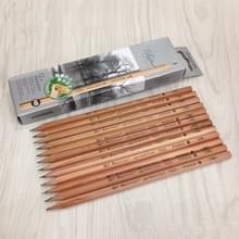 10 stuks tekenen schrijven schets houten potlood vooraf scherp HB Art grafiet potloden