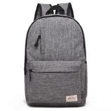 Universele multifunctionele 13.3 inch Laptop Schouderstas studenten Backpack voor MacBook, Samsung, Lenovo, Sony, Dell, Chuwi, Asus, HP, Afmetingen: 37 x 26 x 12 cm (grijs)