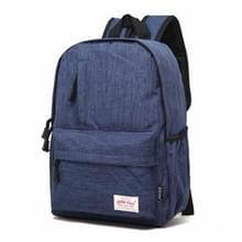 Universele multifunctionele 13.3 inch Laptop Schouderstas studenten Backpack voor MacBook  Samsung  Lenovo  Sony  Dell  Chuwi  Asus  HP  Afmetingen: 37 x 26 x 12 cm (blauw)
