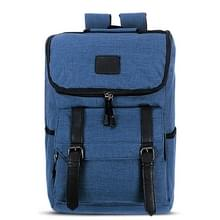 Universele multifunctionele 15.6 inch Laptop Schouderstas studenten Backpack voor MacBook  Samsung  Lenovo  Sony  Dell  Chuwi  Asus  HP  Afmetingen: 43 x 30 x 14 cm (blauw)