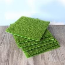Simulatie van kleine gazon Micro-landschap groene gras landschap  grootte: 30 x 30 cm