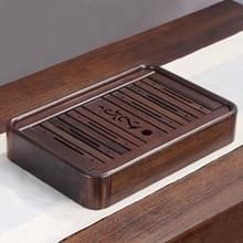Huishoudelijke Ebony water opslag thee lade Kung Fu Teaware  grootte: 36 x 24 x 6 cm