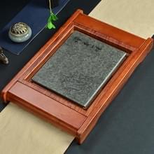 Huishoudelijke massief hout drainage thee lade Kung Fu Teaware