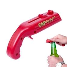 Creatieve bier fles opener Cap katapult keuken bar tool (rood)