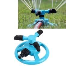 Tuin automatische roterende nozzle 360 graden roterende automatische sprinkler tuin gazon Watering nozzle irrigatie nozzle met 3/4 inch water slang connector