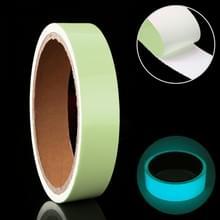 Lichtgevende tape groene gloed in donkere muur sticker lichtgevende fotoluminescerende tape fase Home Decoratie  grootte: 1cm x 3m (Ice Blue Light)