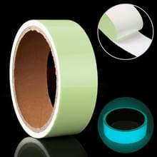 Lichtgevende tape groene gloed in donkere muur sticker lichtgevende fotoluminescerende tape stadium Home Decoratie  grootte: 3cm x 3m (Ice Blue Light)