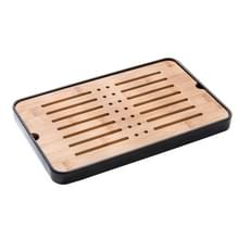 Bamboe draagbare thee tray thee tafel  grootte: 35x23x 3.2 cm