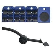 A3 staal/plastic Crowbar plastic mover dik gewicht bewegend gereedschap handige en praktische combinatie (blauw)