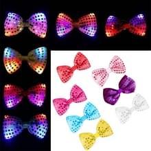 12 PCS 2017 nieuwe stijl Creative lichtgevende Bow Tie Fashion speelgoed van kinderen LED-gloed decoratie  willekeurige kleur levering