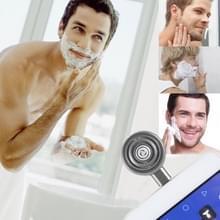 ENKAY Hat-Prins Mini Micro USB draagbare mannen Razor elektrische scheerapparaten voor Androïde Phone(Grey)