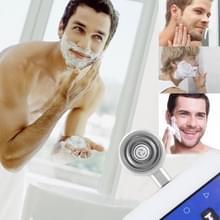 ENKAY Hat-Prins Mini Micro USB draagbare mannen Razor elektrische scheerapparaten voor Androïde Phone(Silver)