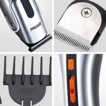 SPORTMAN multifunctionele elektrische oplaadbare Vibrissa Hair Trimmer baard scheerapparaat en leegvissen Machine Set  EU Plug(Silver 220V)