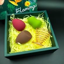 Kalebas Water-drop Sponge Make-up Egg Soft Cosmetic Puffs Set (Lafite Mat)