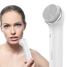 XPREEN XPRE002 IPX7 waterdichte elektrische oplaadbare gezichts reinigende borstel met 3 opzetborstels voor Body Skin Care (wit)