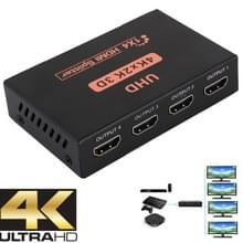 CY10 UHD 4K x 2K 3D 1 x 4 HDMI splitter (zwart)