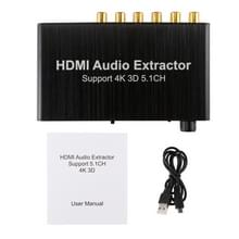 4K 3D HDMI 5.1ch Audio Decoder Extractor