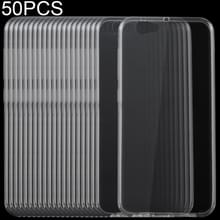 50 stuks 0 75 mm transparant TPU Case voor HTC One A9s
