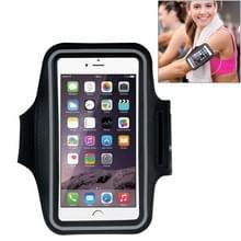 HAWEEL Sport Armband Case met oortelefoon gat & sleutel Pocket voor iPhone 6 Plus  Galaxy S6 / S5(Black)