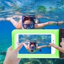 Transparante HAWEEL universeel Waterdicht tas met Lanyard voor iPhone 6 & 6 Plus / 6S & 6S Plus  Samsung Galaxy S6 / S5 / Note 5(groen)