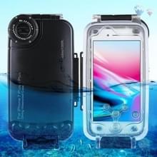 iPhone 7 Plus Waterdicht HAWEEL Hoesje tot 40 meter duik behuizing voor foto en video opnames (zwart)
