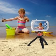 HAWEEL voor iPhone X 40m / 130ft waterdichte duiken huisvesting Foto Video nemen onderwater Cover Case(White)