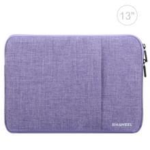 HAWEEL 13 inch Laptoptas Sleeve voor MacBook, Samsung, Lenovo, Sony, Dell, Chuwi, Asus, HP (paars)