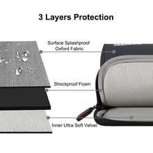 HAWEEL 15 inch Laptoptas Sleeve voor MacBook, Samsung, Lenovo, Sony, Dell, Chuwi, Asus, HP (zwart)