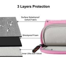 HAWEEL 15 inch Laptoptas Sleeve voor MacBook, Samsung, Lenovo, Sony, Dell, Chuwi, Asus, HP (roze)