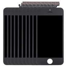 10 stuks 3 in 1 voor iPhone 5 (LCD + Frame + touchpad) Digitizer vergadering (zwart)